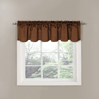 Eclipse Canova Thermaback Blackout Window Valance