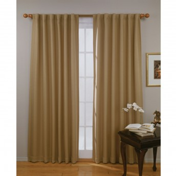 Eclipse Fresno Thermaweave Blackout Curtain Panel