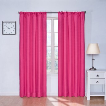 Eclipse Kids Kendall Thermaback Blackout Curtain Panel