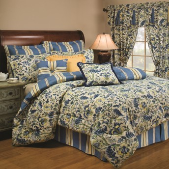 Waverly Imperial Dress Porcelain 4pc Comforter Set