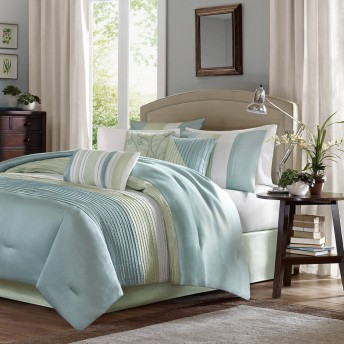Madison Park Carter 7 Piece Comforter Set