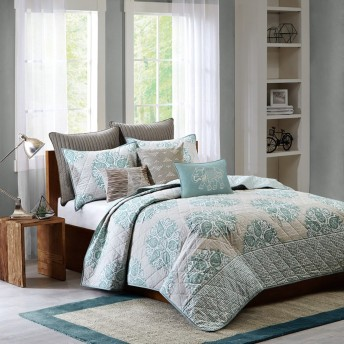 Ink+Ivy Melbourne 3-Piece Coverlet Set