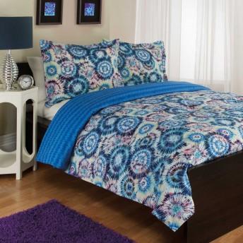 Royale Linens Byron Reversible Comforter Set