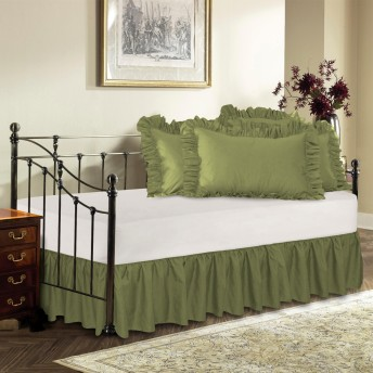 Day Bed Ruffled Bed Skirt