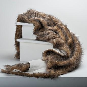 Berkshire Silver Foxtail Faux Fur Throw
