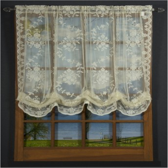 Fiona Scottish Lace Balloon Shade