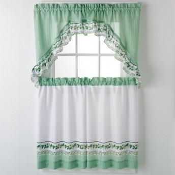 Ivy 3-pc Kitchen Curtain Set