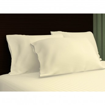 Sateen Stripe 300 Thread Count- 100% Cotton Pillowcase