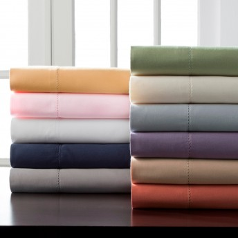 Hemstitch 400 Thread Count Cotton Sheet Set