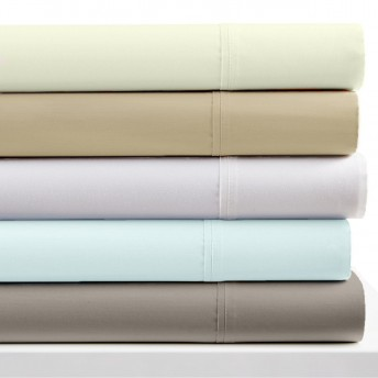 Deluxe 500 Thread Count Cotton Sateen Pillowcase Pair