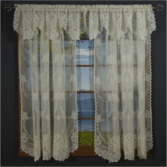 Calais Lace Curtain Panel