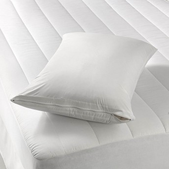 Vinyl Pillow Protector With Zipper