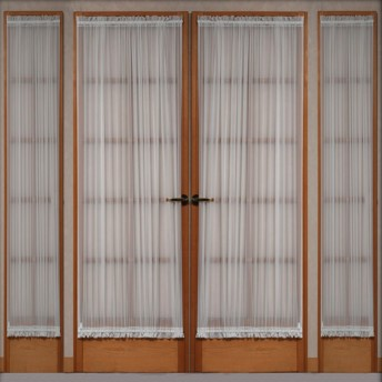 Voile Door Panel and Sidelight Curtains