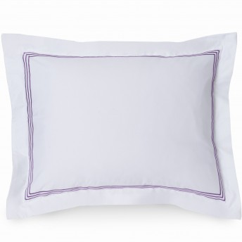 Wickham Linear Embroidered Pillow Sham