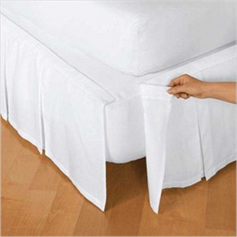 Detachable Bed Skirts - Cotton