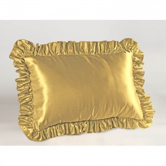 Satin Ruffled Pillow Sham Shopbedding Com