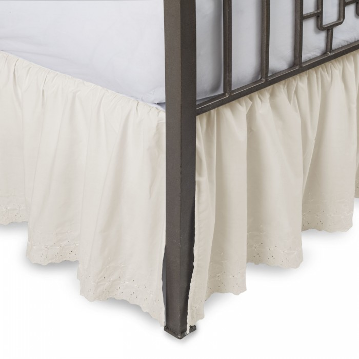 Queen Size Eyelet Bed Skirts