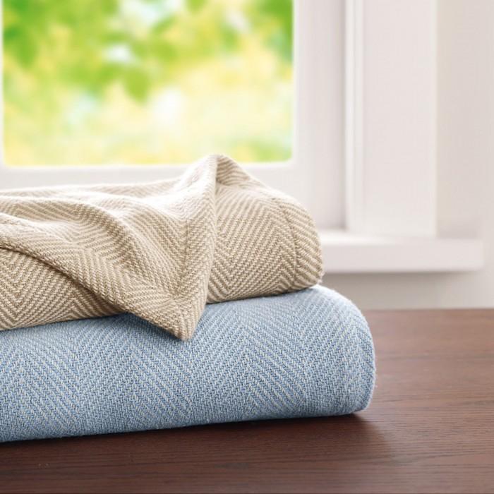 Woolrich Lancaster Cotton Blanket Shopbedding Com