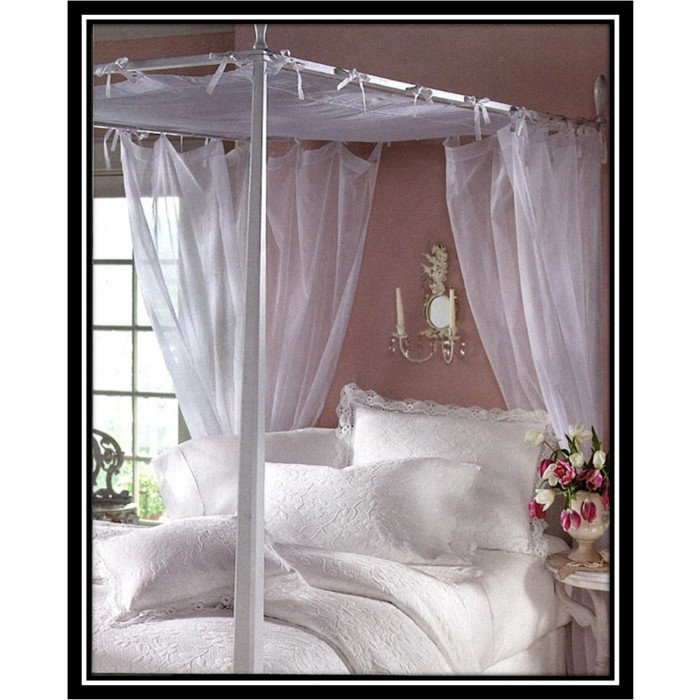 Voile Canopy And Tie Tab Panel Shopbedding Com