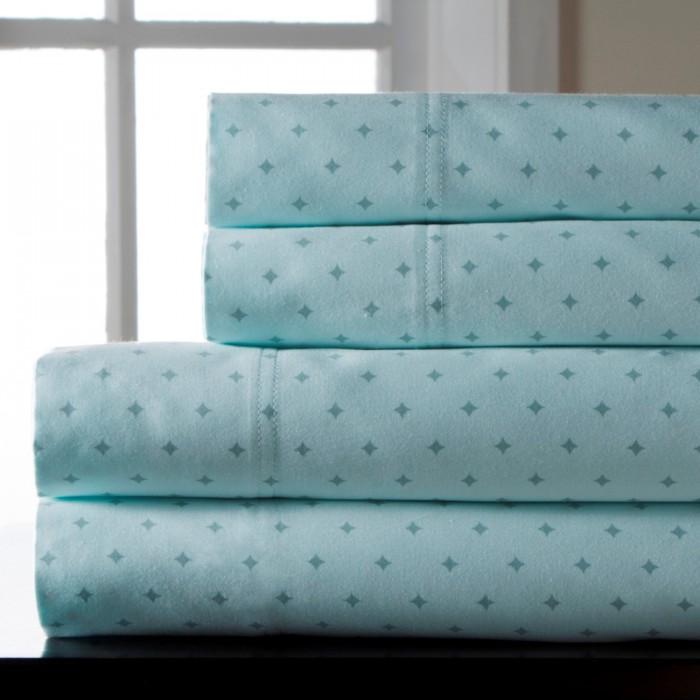 Canterbury Print 300 Thread Count Cotton Sheet Set