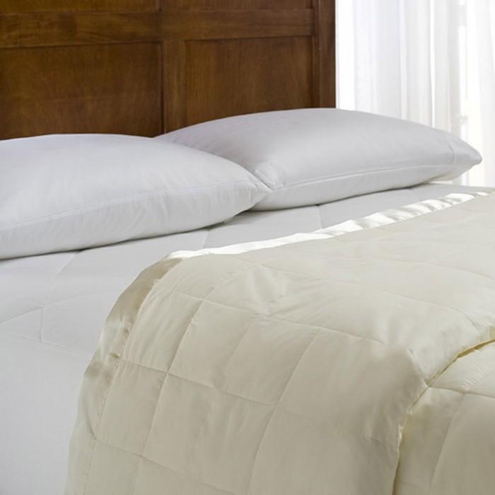 Luxury Down Blanket With Satin Trim Shopbedding Com