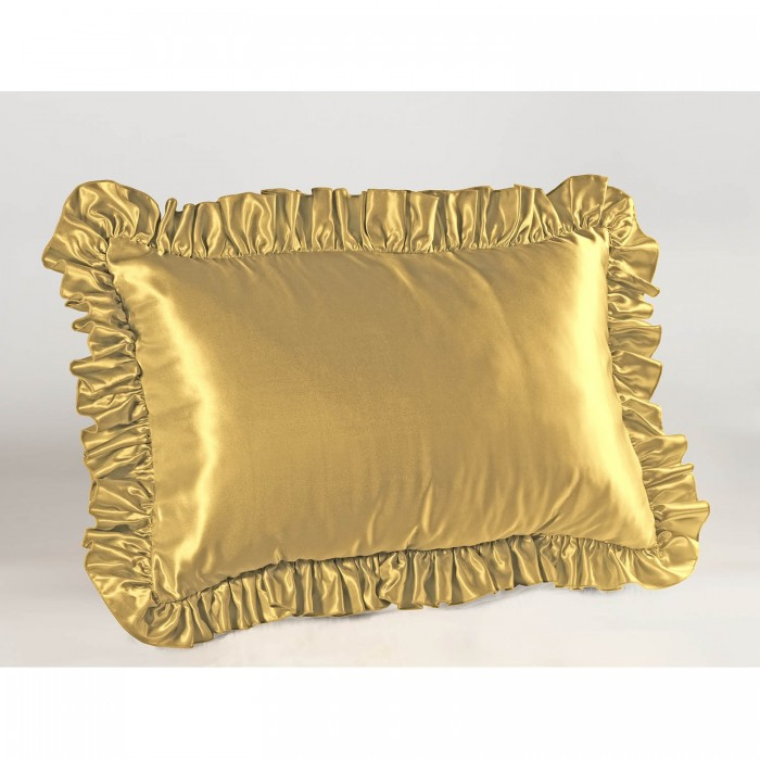 Satin Ruffled Pillow Sham ShopBedding.com