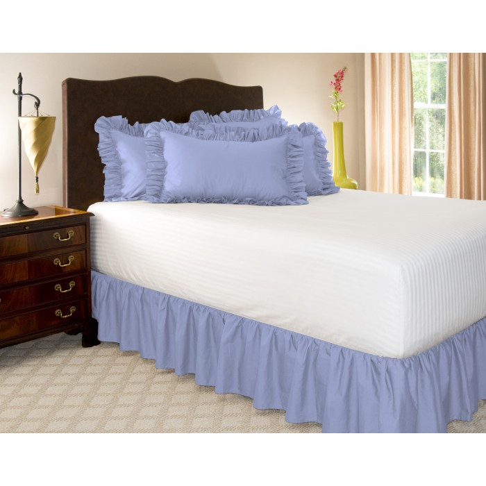Solid Ruffled Bed Skirt Shopbedding Com