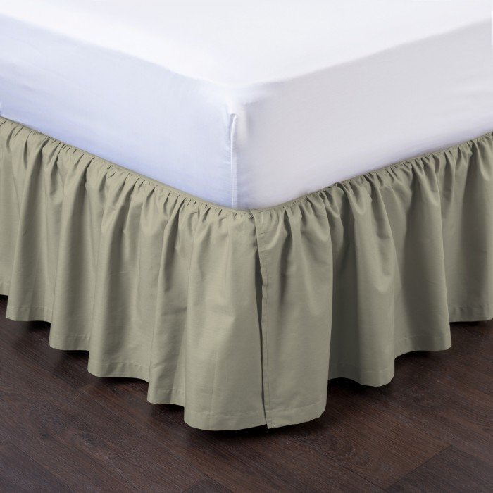 Ashton Detachable Ruffled Bed Skirt Ensemble Shopbedding Com