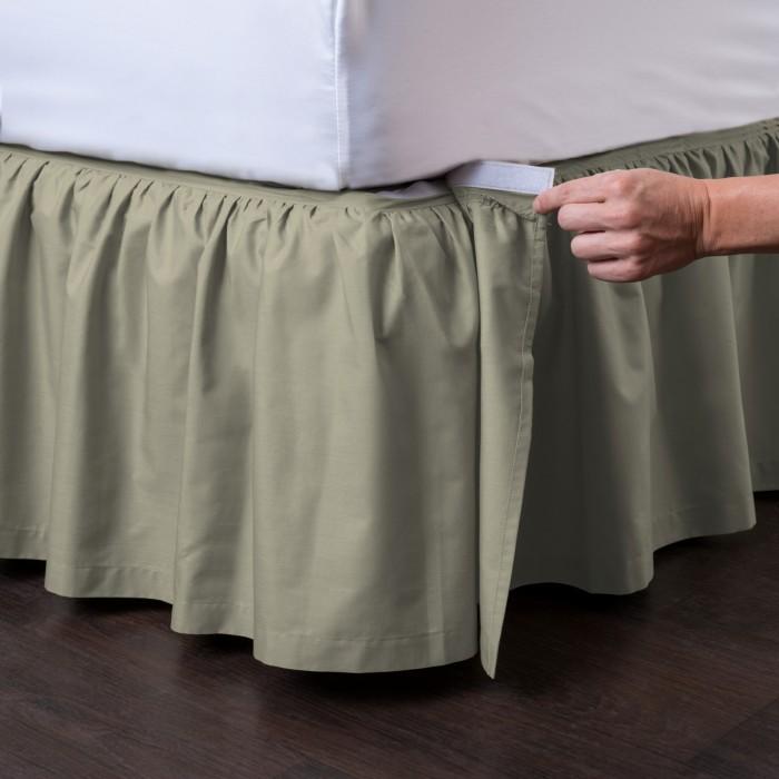 Ashton Detachable Ruffled Bed Skirt Ensemble Shopbedding Com