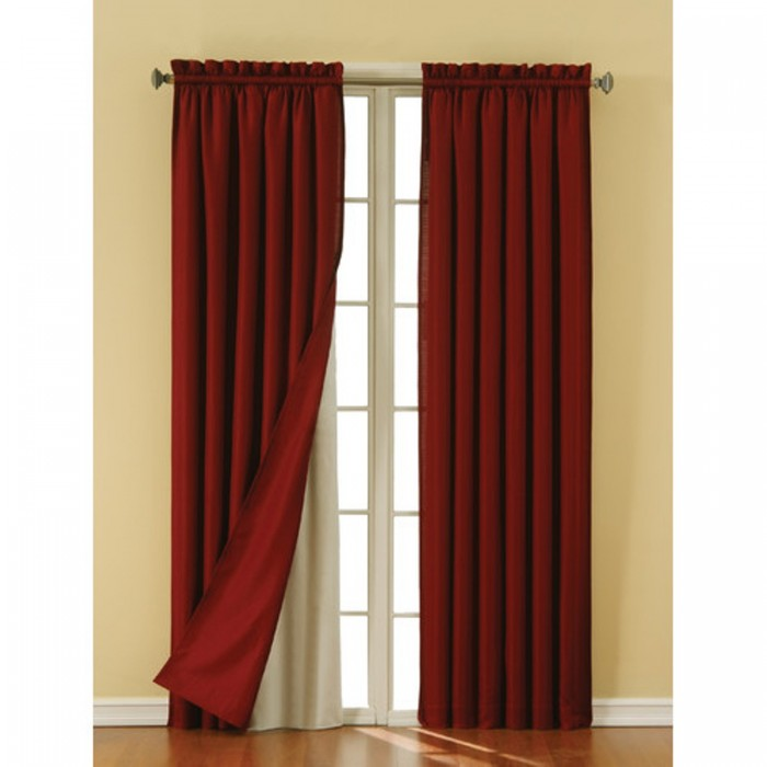 Eclipse Thermaliner Panel Pair - Blackout Curtain Liners ...