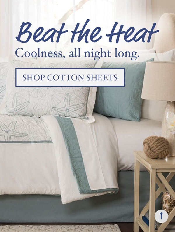 Beat The Heat, coolness all night long, Shop Cotton Sheets