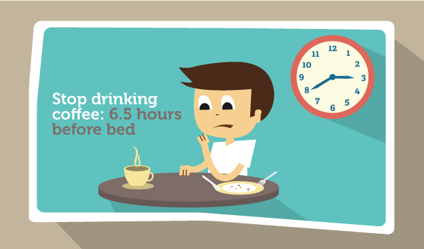 When Should One Stop Drinking Coffee Before Bed?